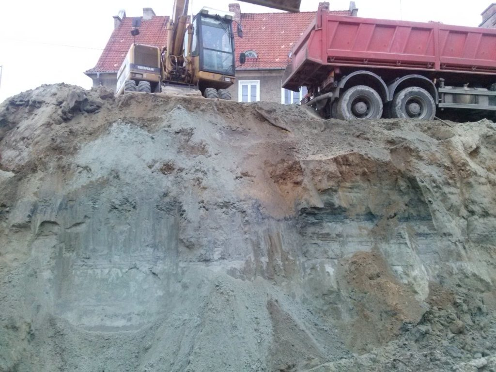 Ex-situ work - excavation