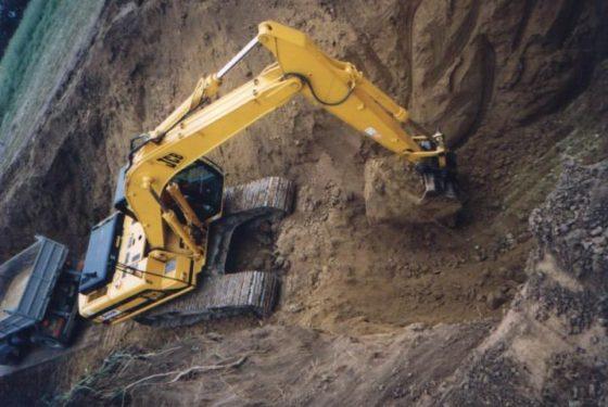 Selecting contaminated soil